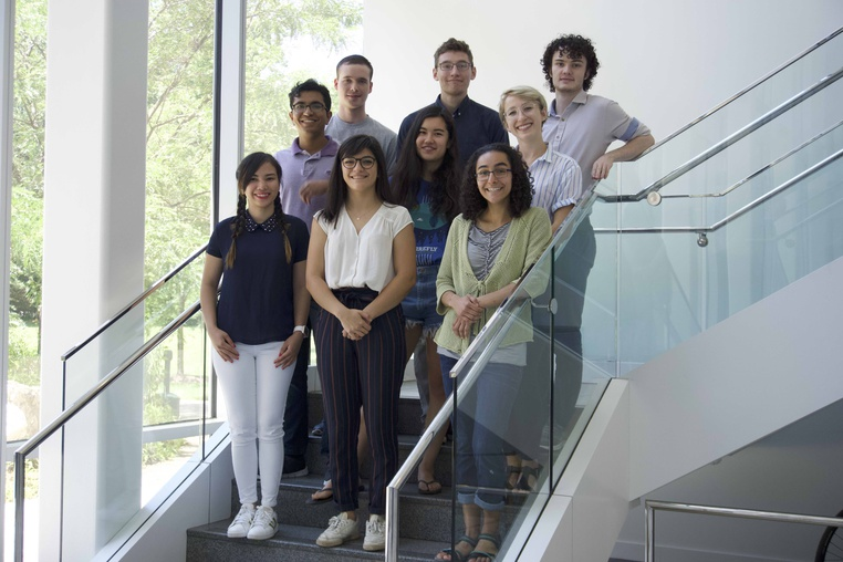 Post Image: Nine Undergraduates Participate in  NSF REU Site at CS@Mason