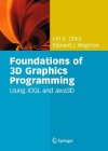 Book Cover for Foundations of 3D Graphics Programming: Using JOGL and Java3D