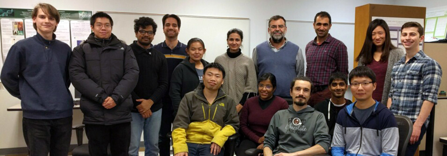Slide Image: Machine Learning & data mining students meet Distinguished Lecture Series Speaker, Dr. Ricardo Baeza-Yates