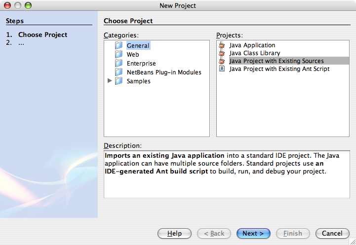Building and Running MASON on NetBeans